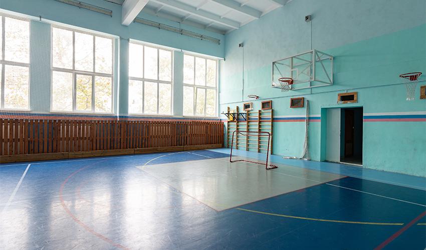 אולם ספורט (צילום: shutterstock.com/madhourse)