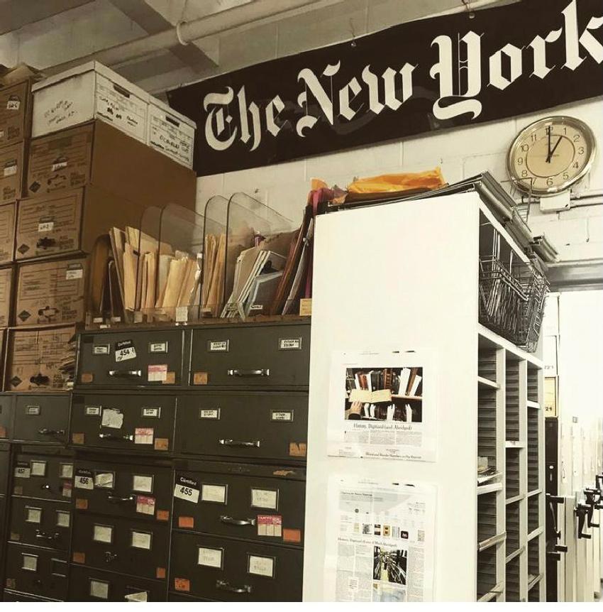 """""""הניו יורק טיימס"""". """"מגדיר עצמו כלוחם גדול בפייק ניוז"""""""
