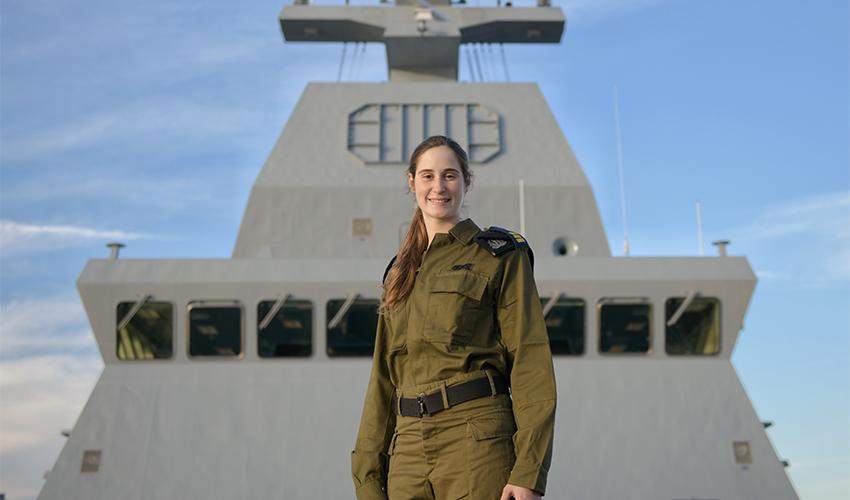 """סרן שירה קליגר (צילום: דובר צה""""ל)"""