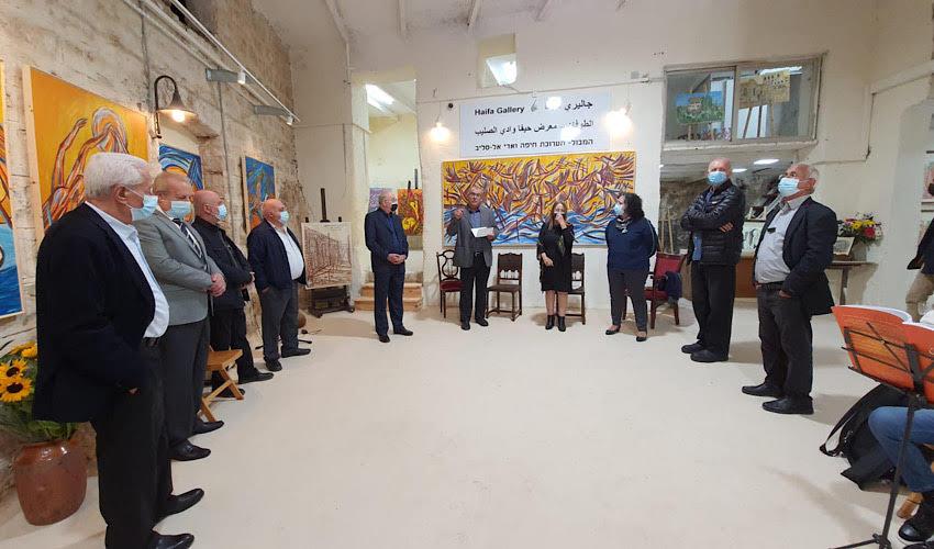 פתיחת גלריית חיפה לאמנות