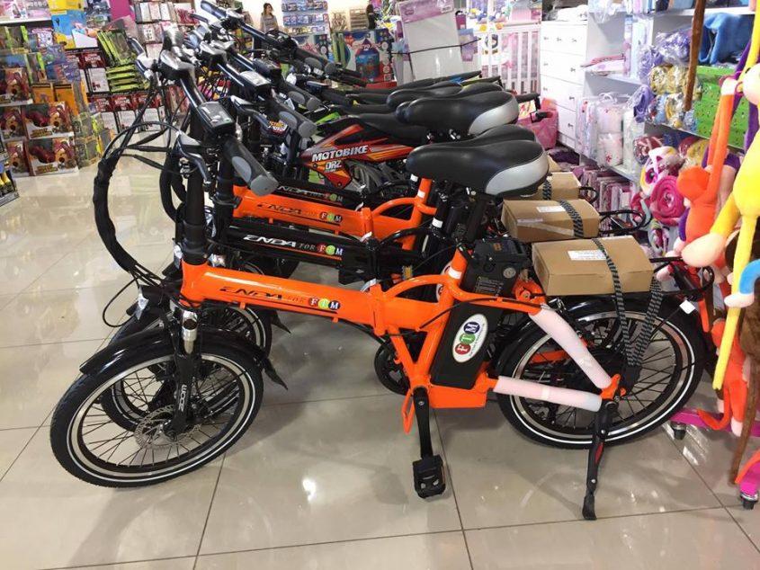 אופניים חשמליים זולים בצפון. צילום: סמר מהנא