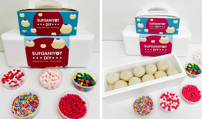 מארזי סופגניות DIY של מתוק בלב