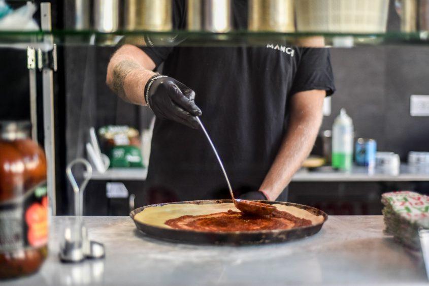 פיצה מאנצ' (צילום: בית דפוס מנטורס)