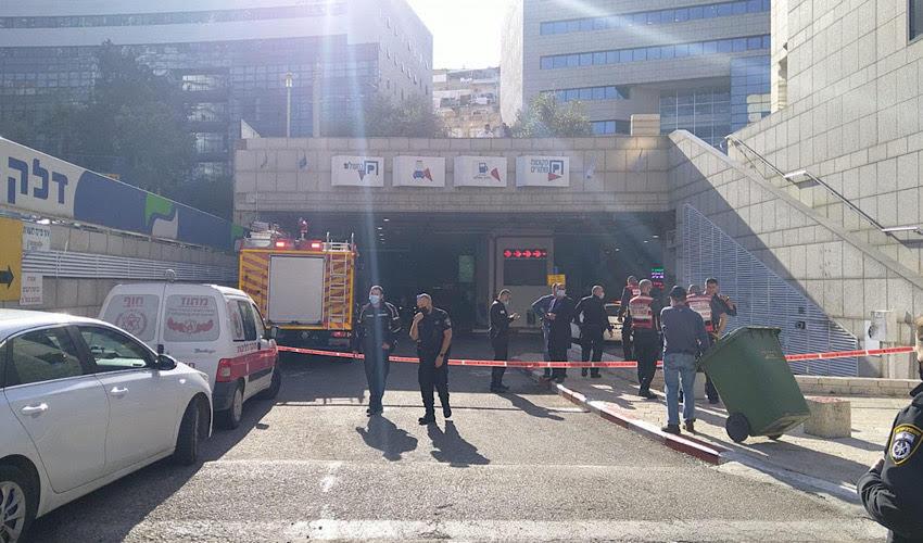 הכניסה לחניון שנסגר (צילום: ג'וואד חוראני, המשרד להגנת הסביבה)