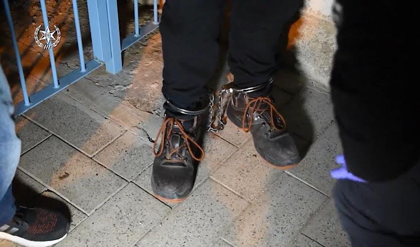 מעצר (צילום: דוברות משטרת ישראל)