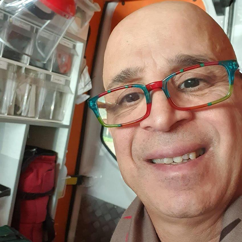 """פאדי נג'אר במחלקת כתר ב' בקריה הרפואית רמב""""ם"""