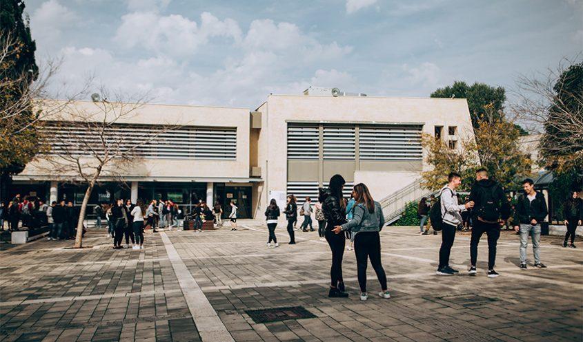 סניף בית בירם של בית הספר הריאלי (צילום: דן קובלר)