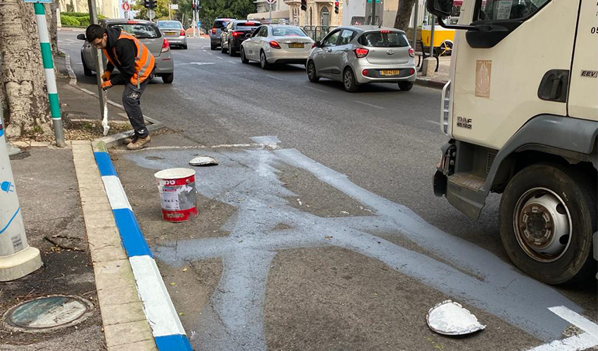 ביטול החניות של Car2Go (צילום: ראובן כהן, דוברות עיריית חיפה)