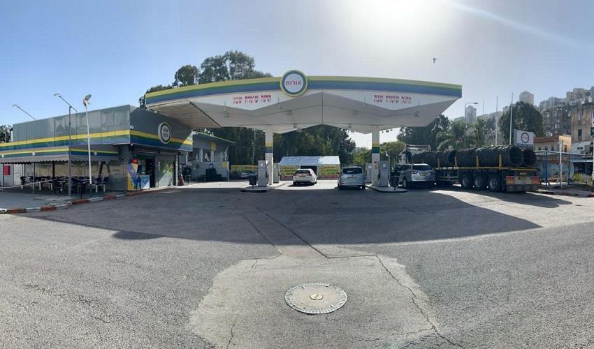 תחנת הדלק אורות (צילום: באדיבות הנהלת אורות)