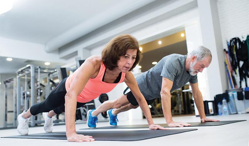 פעילות גופנית בגיל העמידה (צילום: shutterstock/Halfpoint)