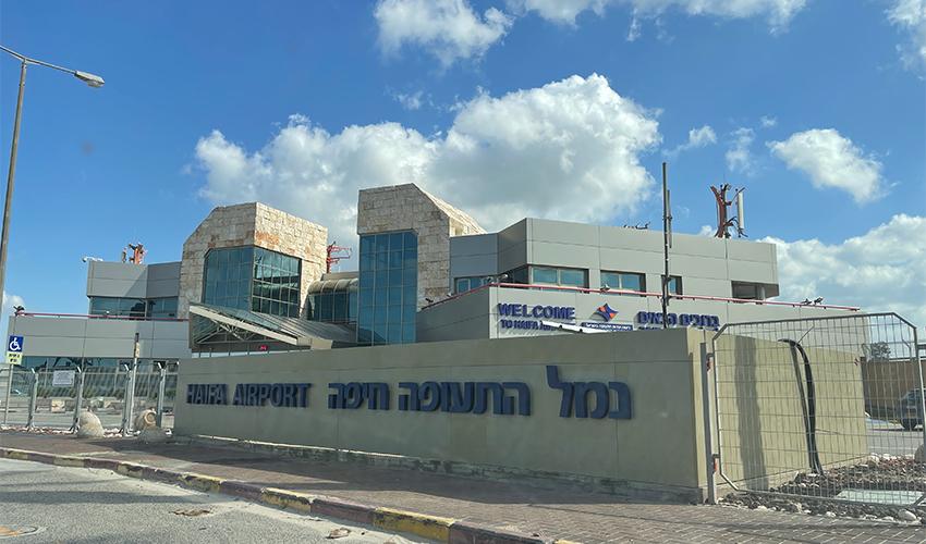 שדה התעופה בחיפה (צילום: אביב מלכי)