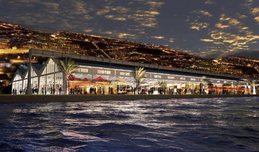 חזית הים העירונית (הדמיה: מן שנער אדריכלים)