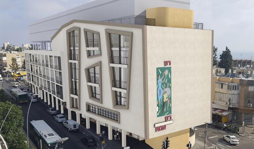 קולנוע רון כמעונות (צילום מתוך פרוטוקול ועדת השימור של עיריית חיפה)