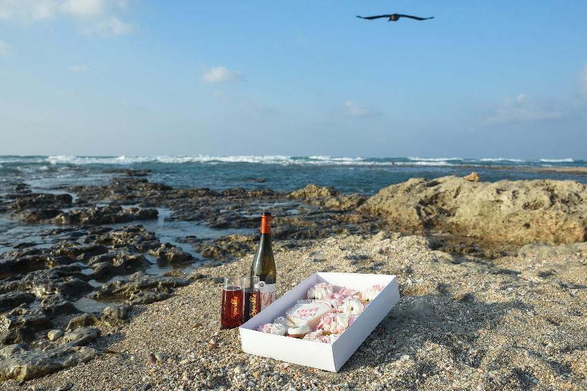 חוף שקמונה (צילום: גלית רוזן)