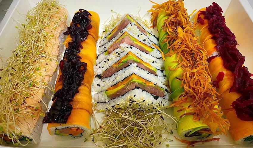 מגש סושי (צילום מתוך דף הפייסבוק של Art of Sushi)