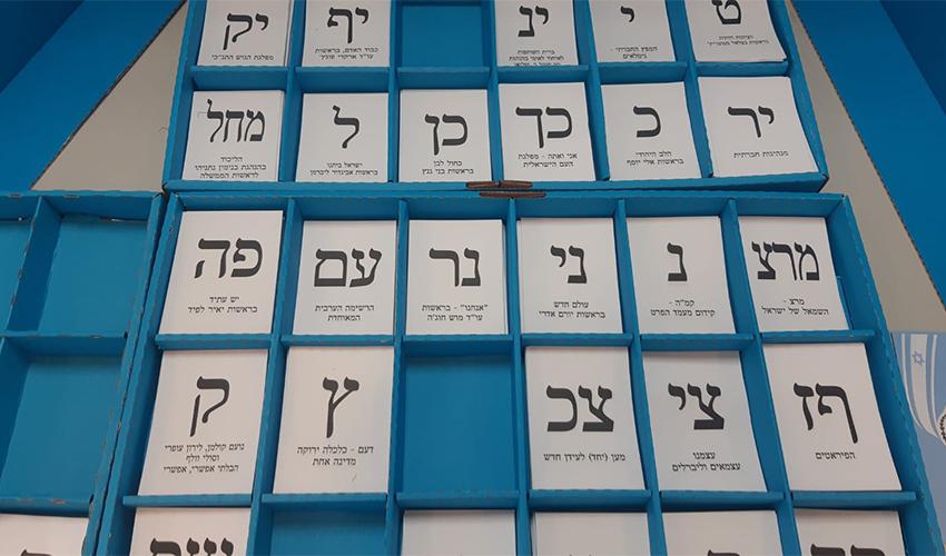 קלפי בבית הספר אילנות בחיפה