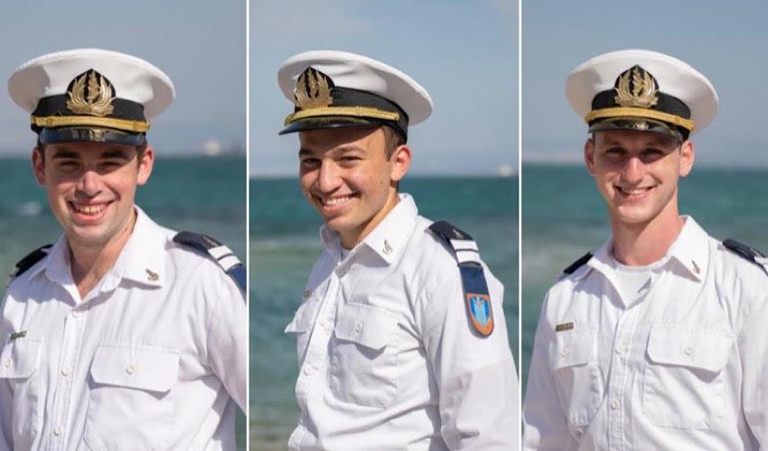 """סגן גלעד רז, סגן בועז בן מנחם וסגן גיא רבינוביץ' (צילומים: דובר צה""""ל)"""