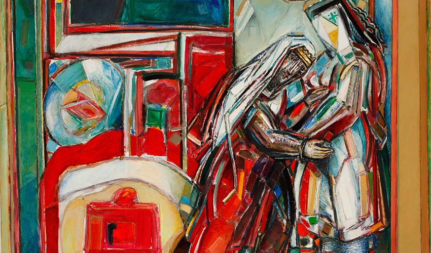 ציור של שמואל בונה (צילום: שמואל בונה)