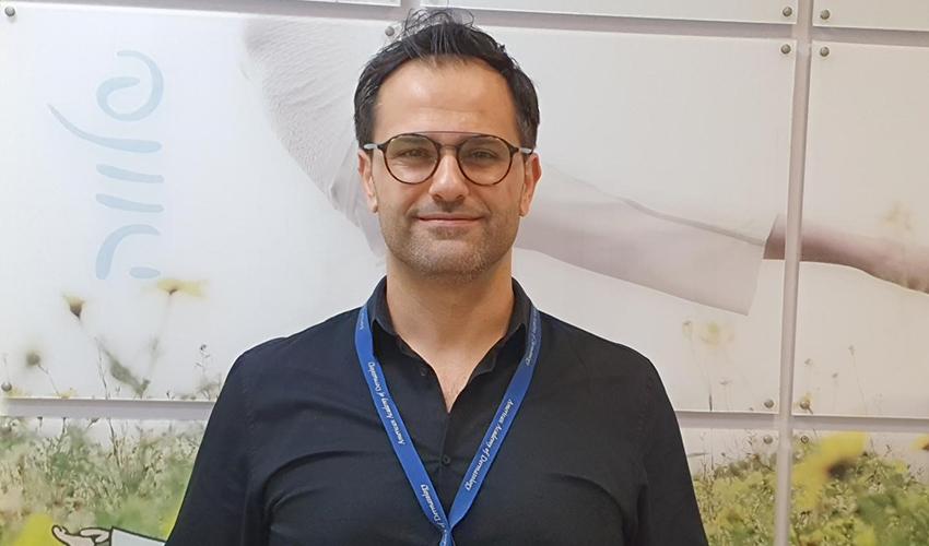 """ד""""ר ראיד חורי (צילום: דוברות שירותי בריאות כללית)"""