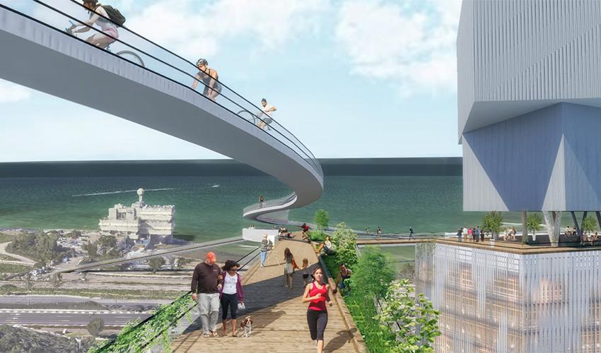 עין הים (הדמיה: משרד אירית צרף נתניהו - אדריכלות ובינוי ערים)