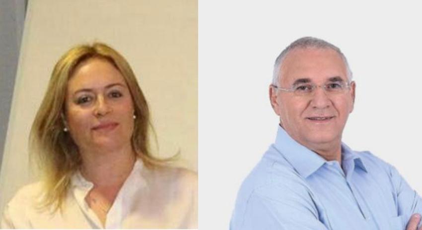 """אביהו האן ועו""""ד ענבל ריבלין (צילומים: מירב שדה, דוברות העירייה)"""