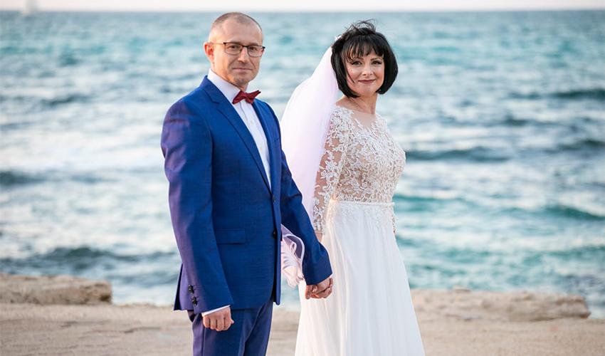 יבגניה בוגאטוב ולזר רוייף (צילום: כתום צלמים)
