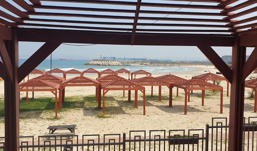 החוף השקט (צילום: בועז כהן)