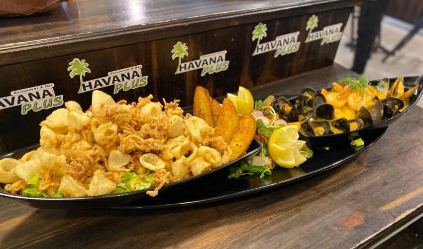 """אוניית פירות ים. מנת הדגל של מסעדת """"הוואנה פלוס"""" (צילום: """"הוואנה פלוס"""")"""