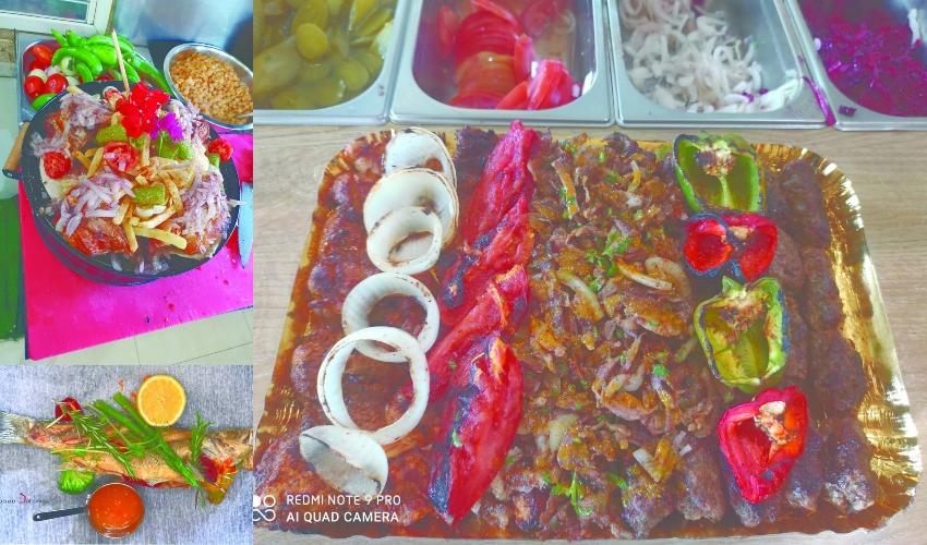 המטעמים של ערוזנא (צילום: דף הפייסבוק של מסעדת ערוזנא)