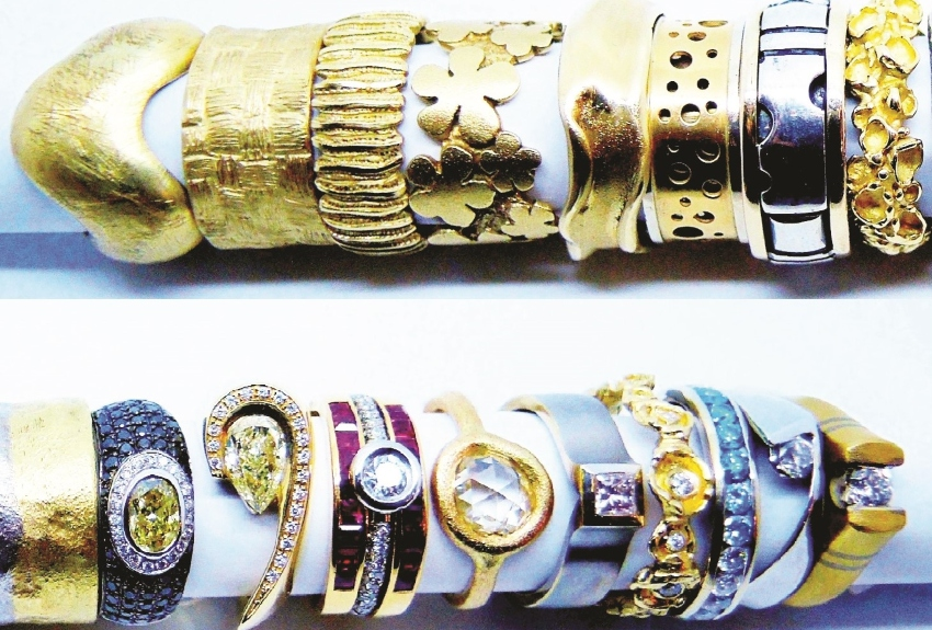 תכשיטים של ביז׳ו תכשיטים (צילום: עדי וולפנפלד)