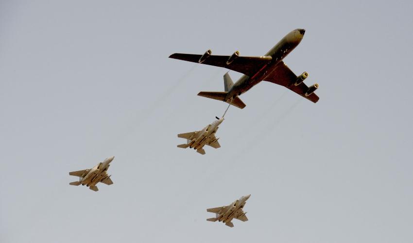 """מטוסי חיל האוויר (צילום: עמוס בן גרשום, לע""""מ)"""