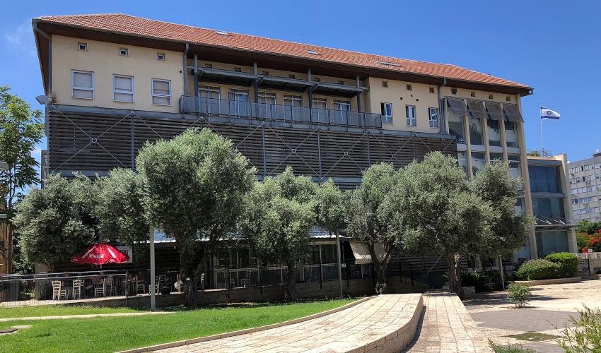 """המרכז האקדמי לעיצוב ולחינוך ויצו חיפה (צילום: יח""""צ)"""