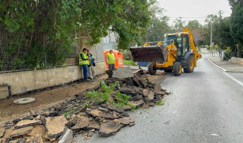 """מיזם """"אצלנו בשכונה"""" (צילום: ראובן כהן, עיריית חיפה)"""