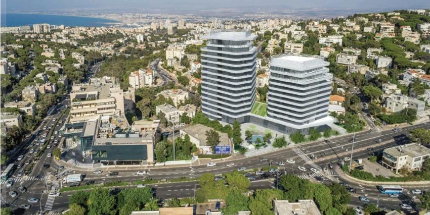 תוכנית ההתחדשות העירונית באחוזה (הדמיה: משרד גורדון אדריכלים ומתכנני ערים)