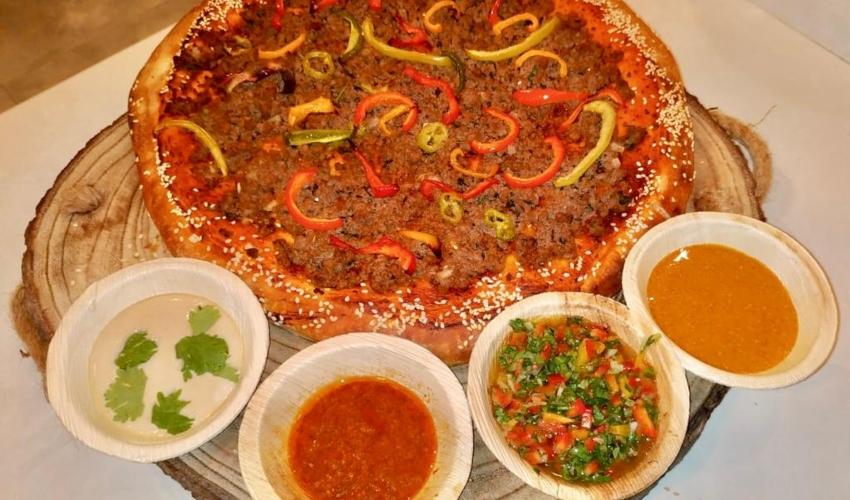 נטו בשר. Piza Meat