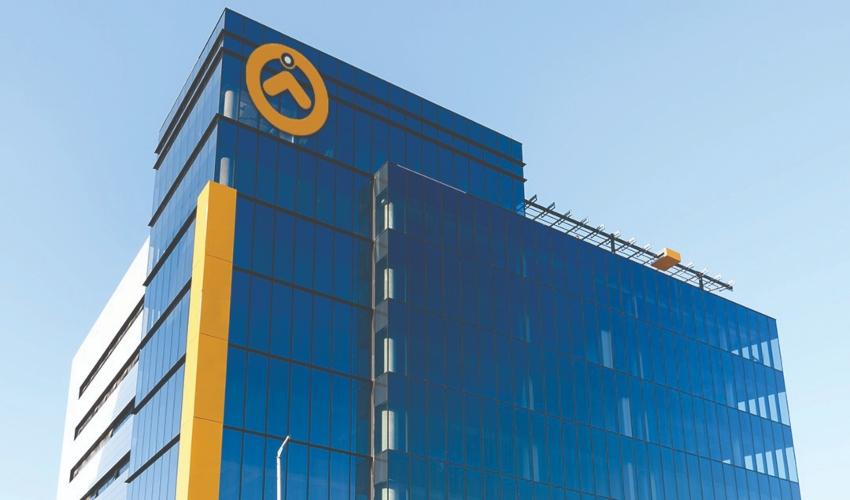 בניין המשרדים החדש (צילום: סלע בינוי)