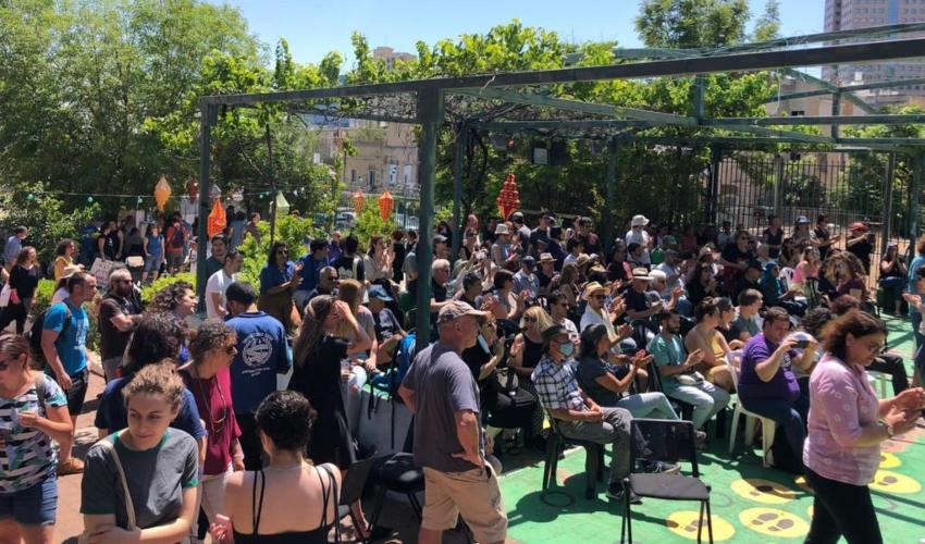 אירוע סולידריות בבית הגפן (צילום: בית הגפן)