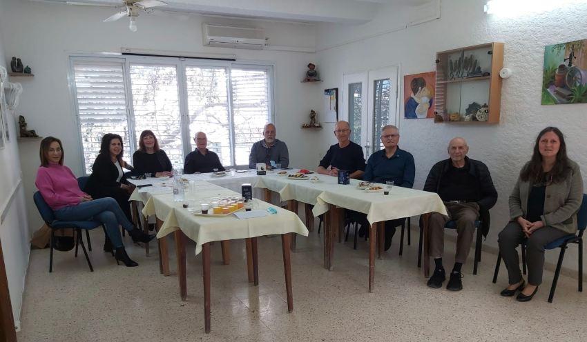 """מפגש מתנדבים. רוטרי מוריה צילום: יח""""צ"""