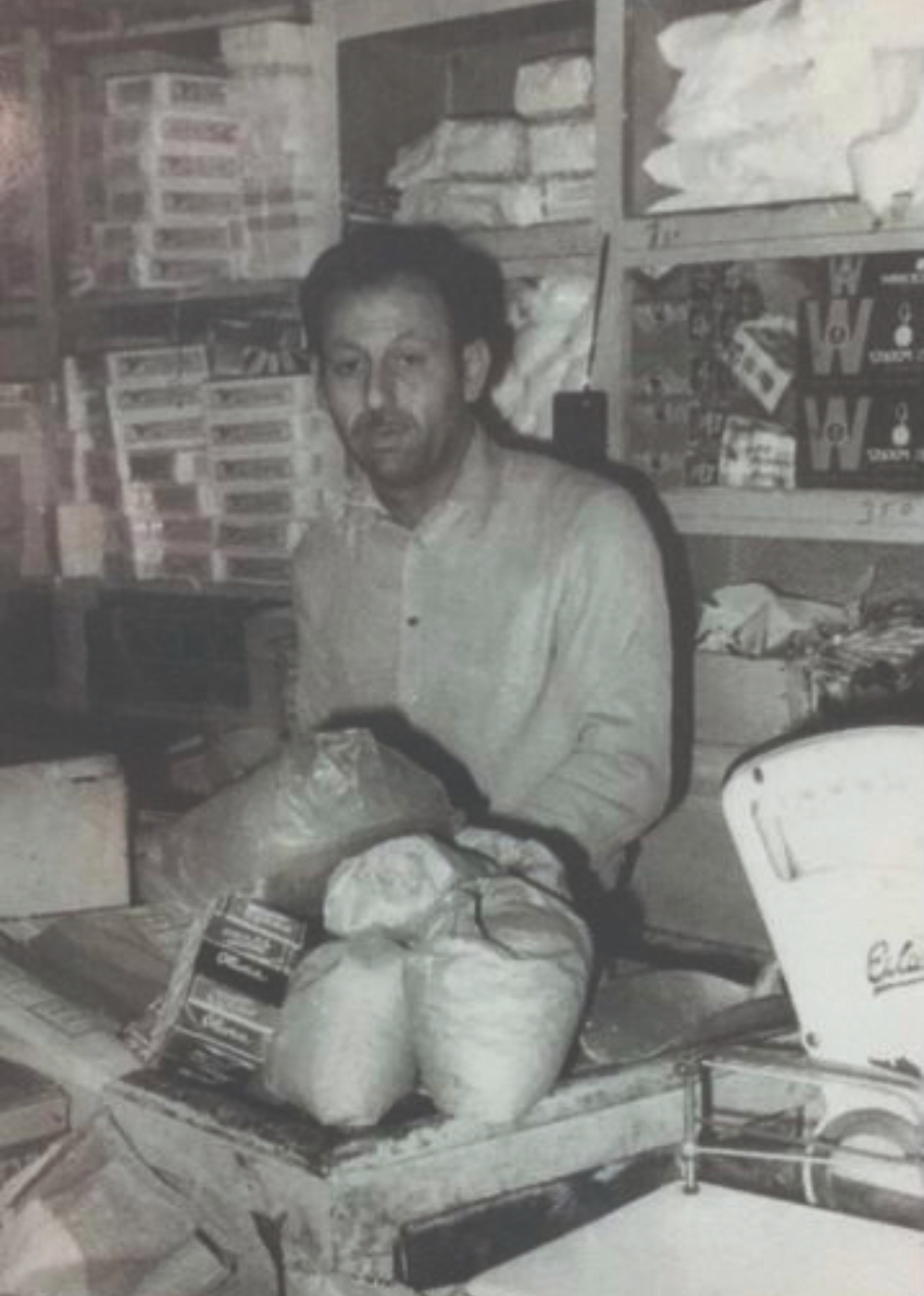 האב, אחמד מאי (צילום: באדיבות סמיר מאי)
