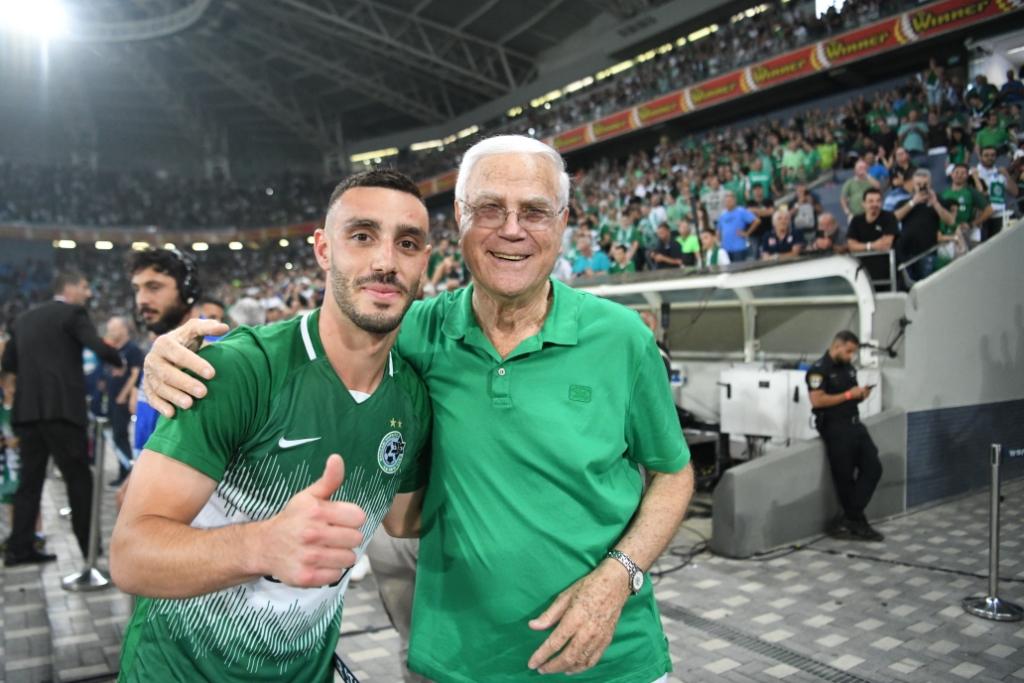 מכבי חיפה אלופת המדינה בכדורגל לעונת 2020/21 (צילום: ראובן כהן)