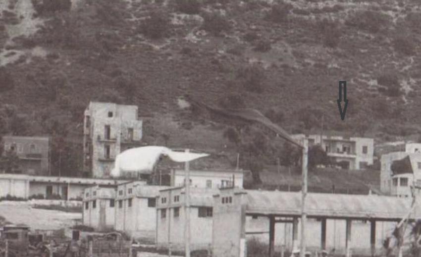 הבית של אברם קנטור, רחוב אלנבי, על צלע ההר (צילום: באדיבות אברם קנטור)