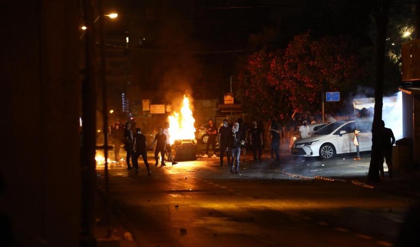 עימותים אלימים במחאה במושבה הגרמנית
