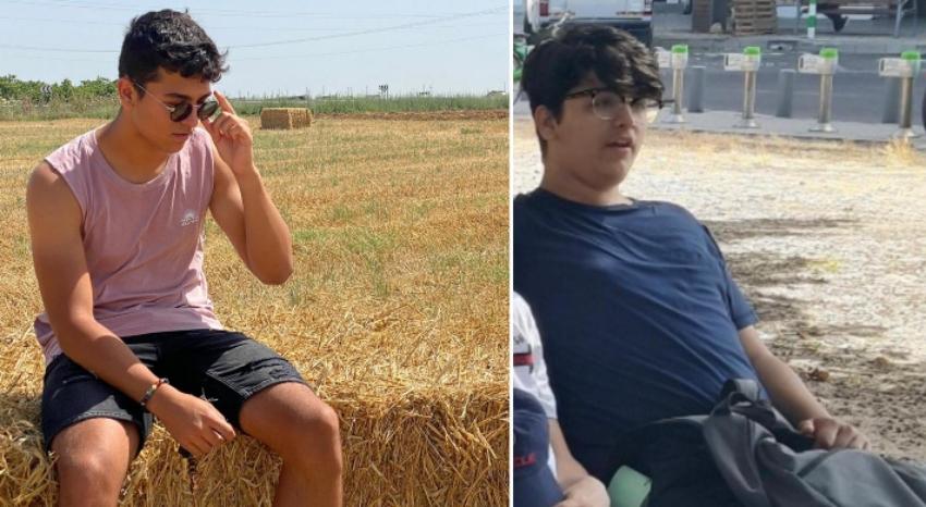 עמית בר-נוף לפני ואחרי המהפך (צילום: אלבום פרטי)