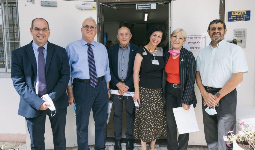 טקס חגיגי לציון צירופו של בית הספר לסיעוד לאוניברסיטת חיפה צילום: מיכה בריקמן