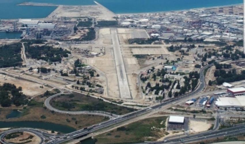 שדה התעופה בחיפה (צילום: מתוך הדוח)