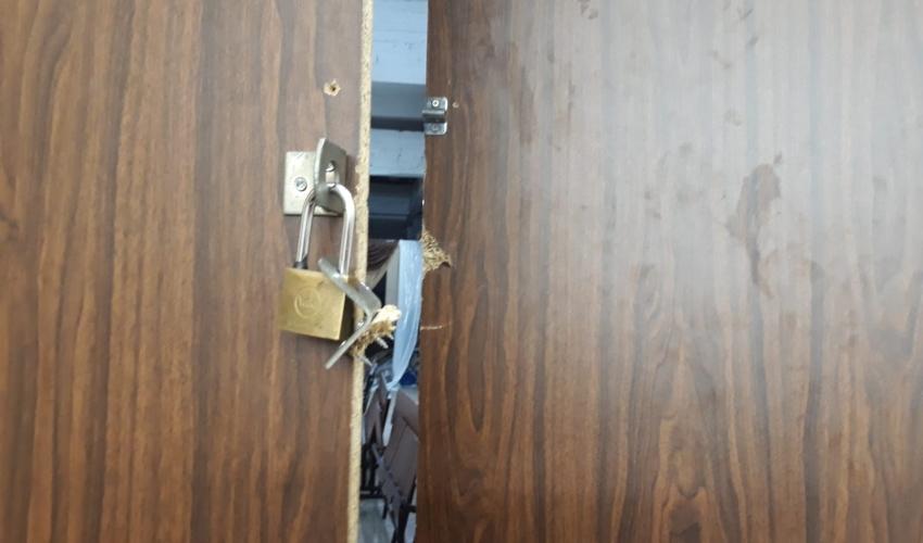 דלת בית המדרש שנפרצה