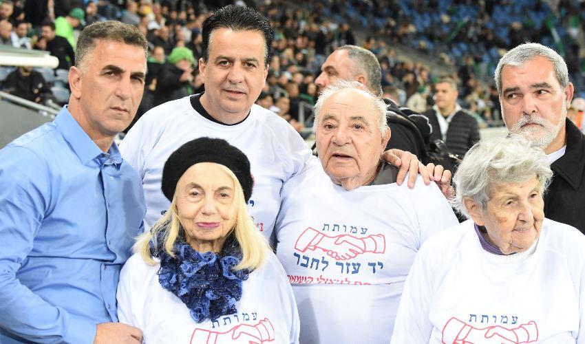 מתארחים במשחקים של מכבי חיפה | צילום: ראובן פריזי