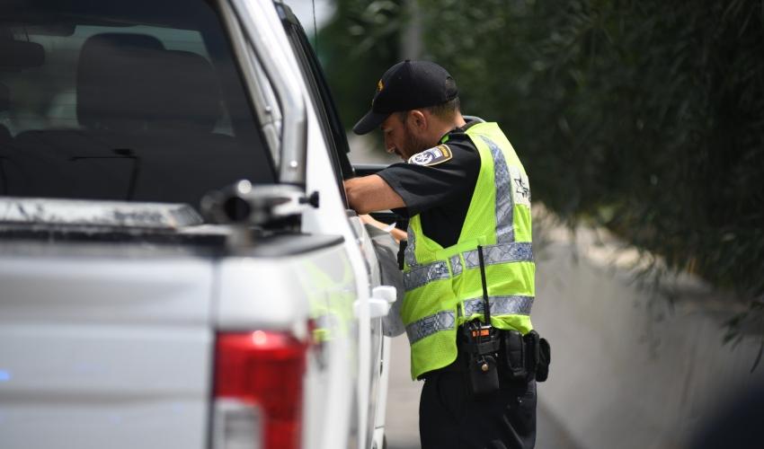 מבצע אכיפה בכבישי הארץ של אגף התנועה (צילום: דוברות המשטרה)