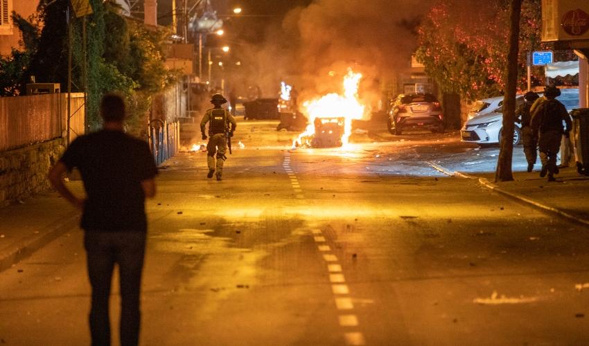 המהומות בחיפה. מאי 2021