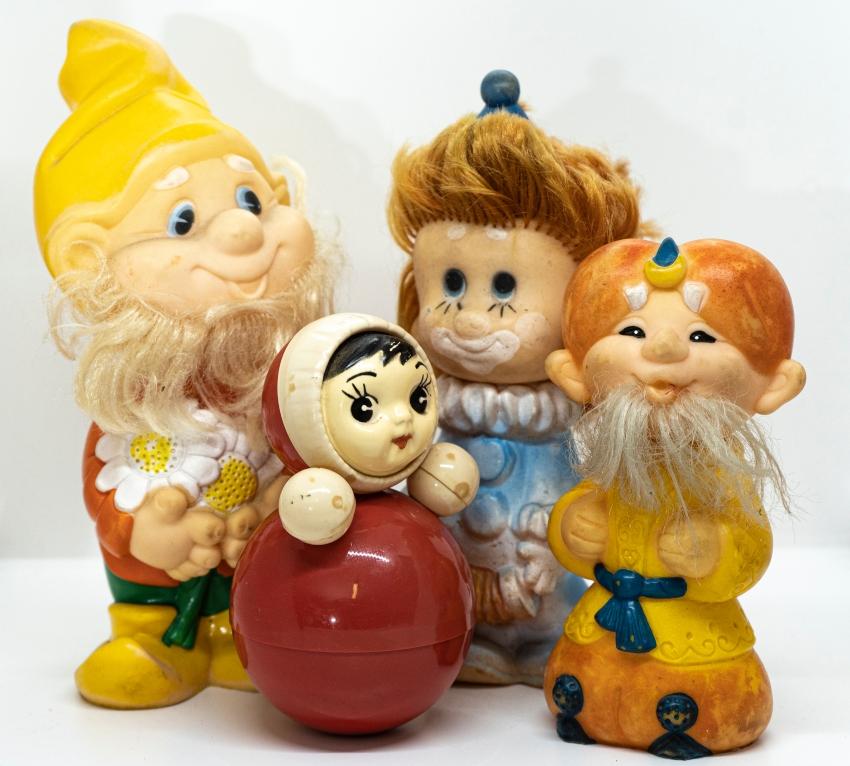 צעצועים סובייטיים (צילום: דורית יורדן דותן)
